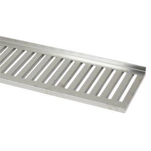 Grid shelves 300 mm, stainless steel