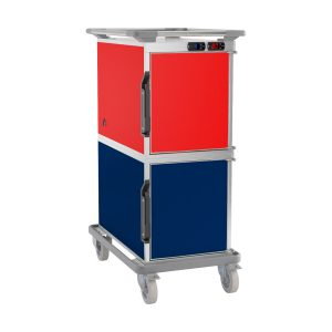 Combination trolleys, cold/warm