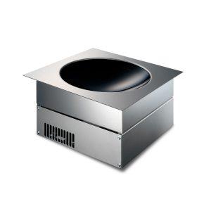 Drop-in induction woks