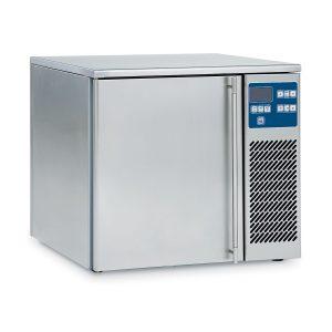 Blast chiller and shock freezer cabinets