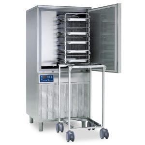 Blast chiller for oven racks