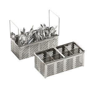 Dishwashing tray for cutlery