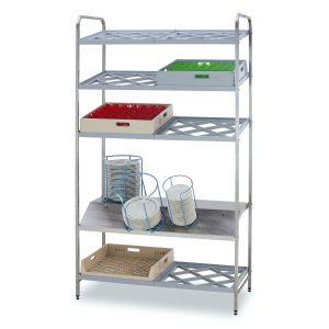 Racks for handling and sorting tableware