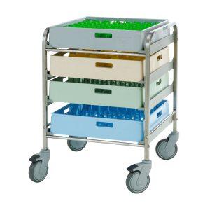 Basket trolleys